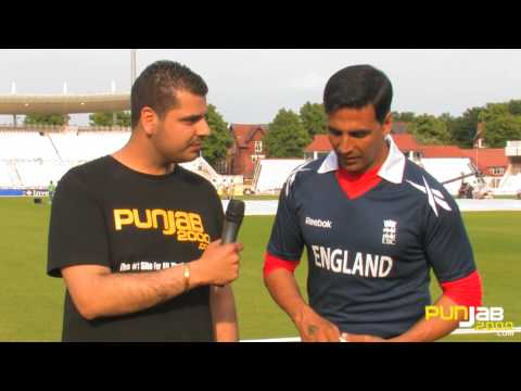 Punjab2000.com interview with Akshay Kumar on the set of Patiala House