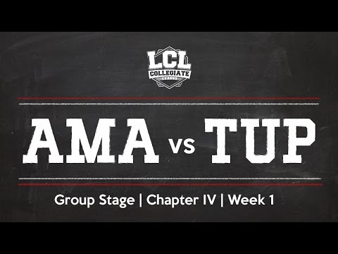 LCL 2016 Spring Term - W1 - AMA vs TUP