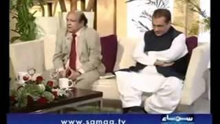 Talk Show About Anti-Ahmadiyya Law- on Samaa.tv with Nadia Jamil 4-4..