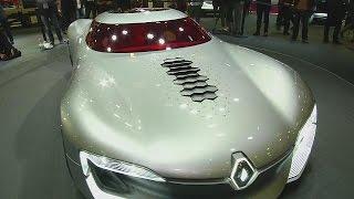 Geleceğin arabaları Paris Otomotiv Fuarı'nda tanıtıldı