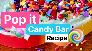 How to make Candy out of Pop Its!!!  ULTIMATE SPRINKLES!