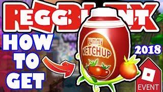 [EREIGNIS] Wie man das Eggchup-Ei bekommt - Roblox Egg Hunt 2018 - Easterbury Canals
