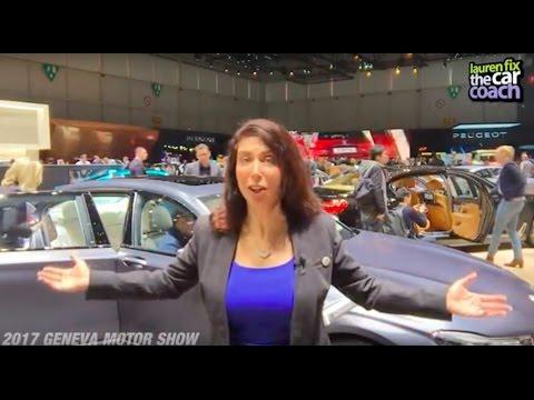 2017 Geneva Motor Show - Lauren Fix, The Car Coach®