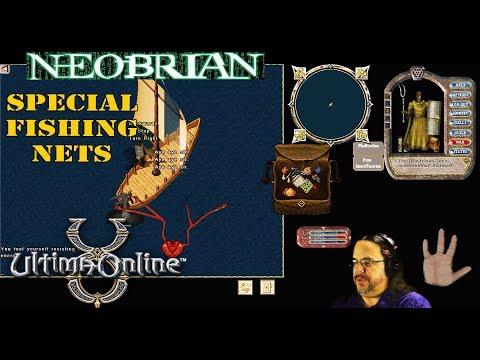 The Kraken! Special Fishing Nets - Ultima Online