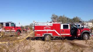 Vlog 5..Bad day motor home burnt down in Quartzsite Az