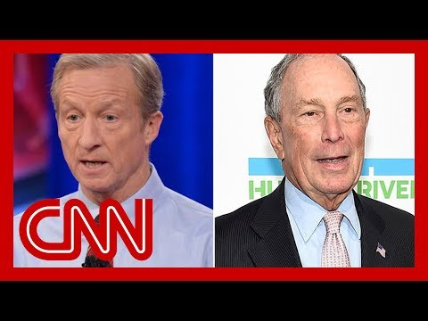 Billionaire Democratic candidates overwhelm rivals in TV advertisement spending Democratic presidential candidates Tom Steyer and Michael Bloomberg have spent over $200 million on TV advertisements, seven times more than their rivals ..., From YouTubeVideos