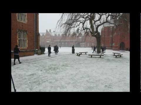 St Edwards School - January 2013 Snow