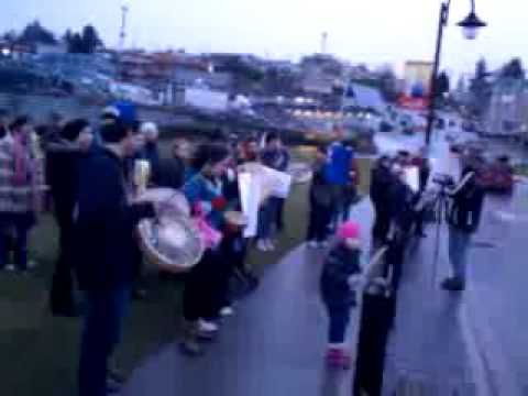 #J28 #IdleNoMore Tla'Amin Nation, Coast Salish Territories