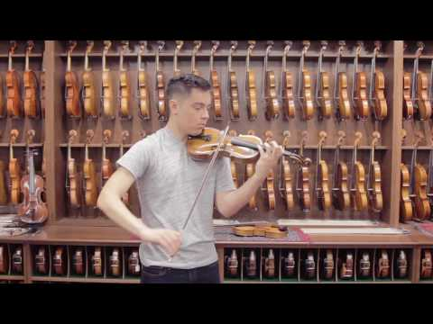 Jacob Stainer, 1655 Violin Demonstration by Michael Romans