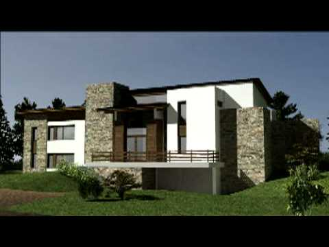 render 3d casa playa youtube