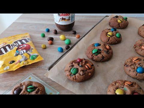 cookies-aux-m&m's