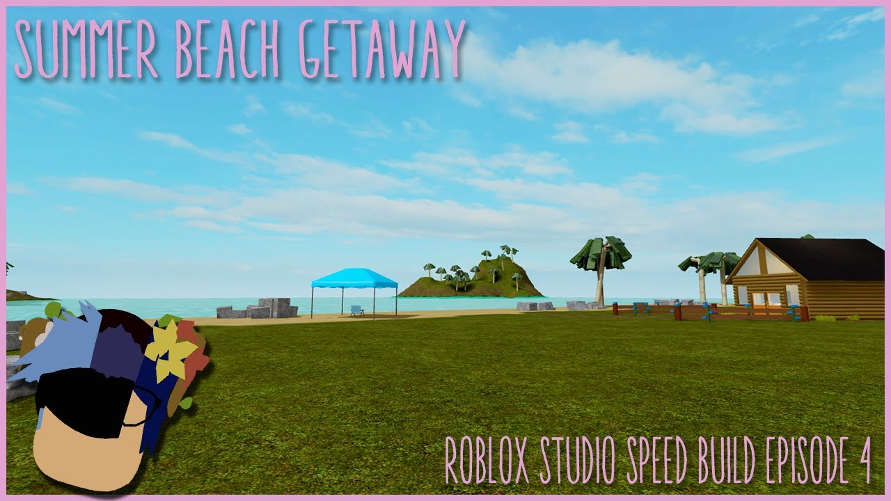 Brand New Ocean Summer Bundle Roblox Assassin Lighttube Summer Beach Getaway Roblox Studio Speed Build Episode 4 Youtube