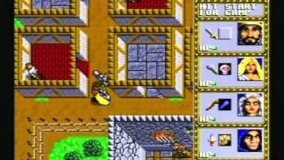 Dungeons & Dragons: Warriors of the Eternal Sun (1992) SEGA Mega Drive II -Retro Gaming-