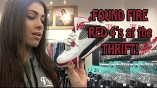 Fire Red 4's for $40 at Plato's!!! | TTTT #7