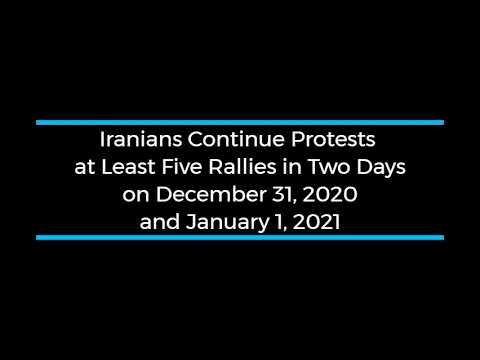 Iranians Continue Protests; at Least Five Rallies and Strikes During Two days