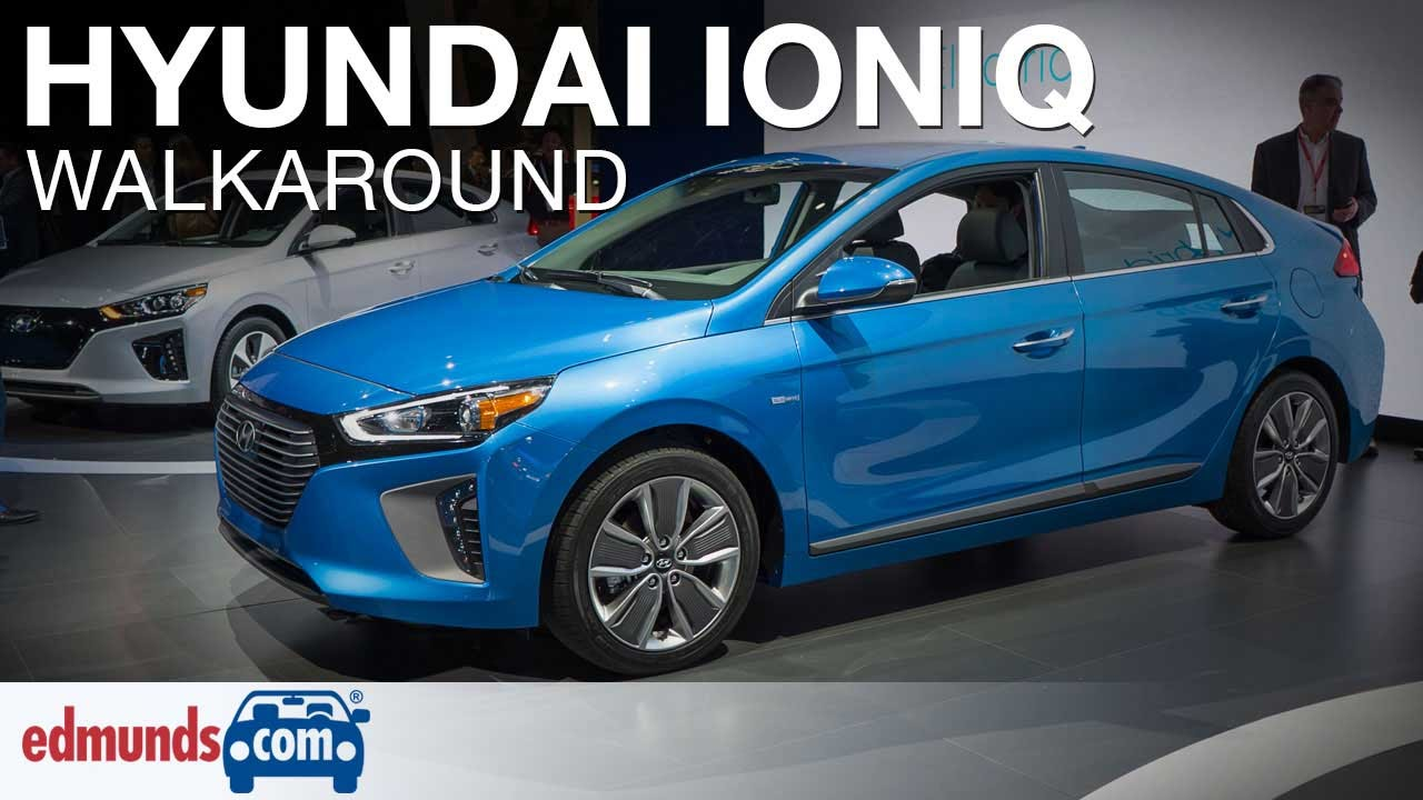 Perfect 2017 Hyundai Ioniq Hybrid Walkaround  YouTube