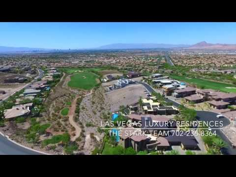 Take An Aerial Drone Tour of Macdonald Highlands | Las Vegas Luxury Homes by The Stark Team