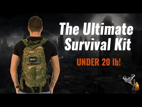 Tactical Traveler Survival Kit - Bug Out Bag for Urban Environments