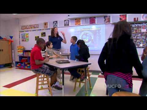 Hands on science at Goldsboro Elementary Magnet School
