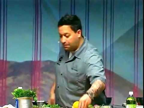 Chef Mike Isabella at NRA Show 2012