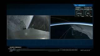 SpaceX IRIDIUM-8 Launch & Landing