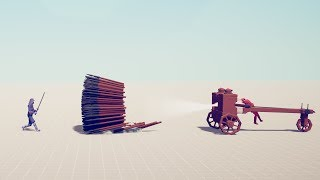 ARMY DESTROYER vs EVERY UNIT Totally Accurate Battle Simulator TABS