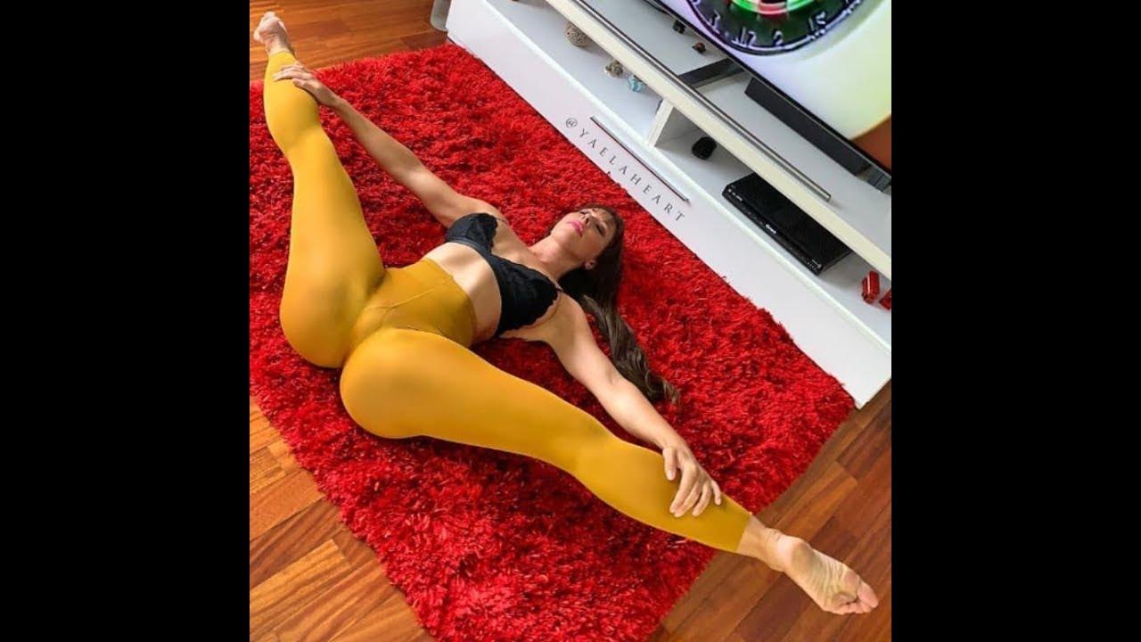 Yaela Heart Sexy Yoga Queen of stretching | Fitnes model
