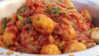 Egg curry recipe for poor people || Nawab's Kitchen