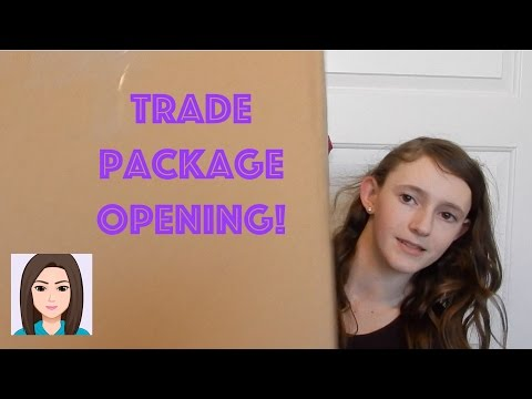 Trade Package Opening!
