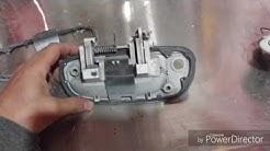 How to paint door handles