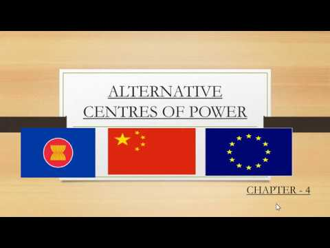Alternative Centers of Power:Part 1: Chapter - 4 Political Science Class 12