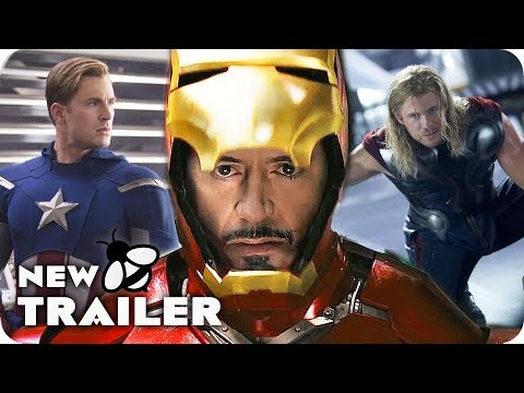 Play MARVEL CINEMATIC UNIVERSE PHASE 1 | All MCU Trailers (2008 - 2012) Superhero Compilation