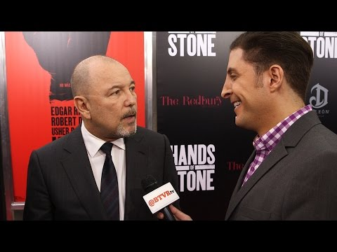 "Rubén Blades at the ""Hands of Stone"" Premiere Behind The Velvet Rope with Arthur Kade"