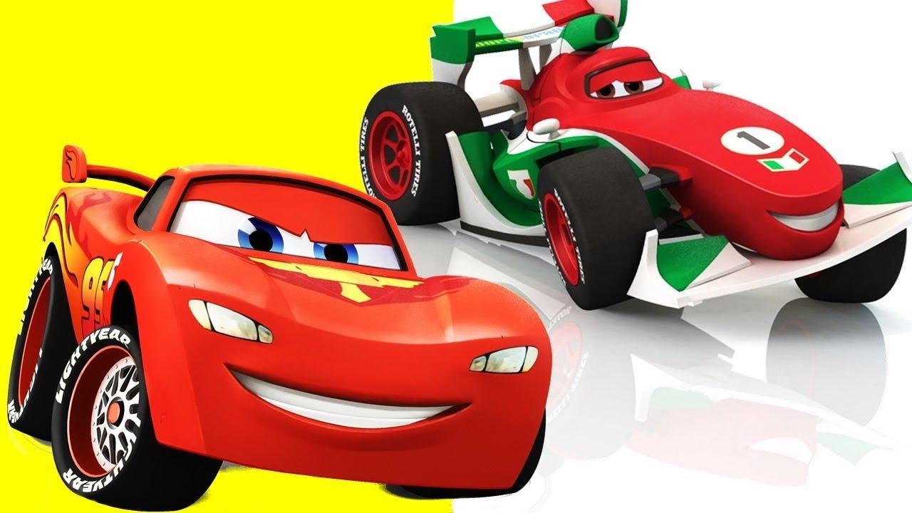 Disney Carros Francesco Bernoulli Vs Lightning Mcqueen Tow