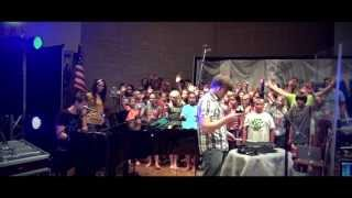 Cornerstone - Hillsong - LIVE WORSHIP COVER by Tommee Profitt Band ft. Impact Lansing Camp 2013