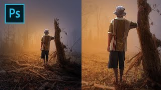 Photoshop Photo Editing Dramatic Photo Art