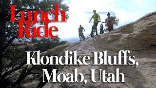 Mountain Biking Klondike Bluffs, Moab, Utah
