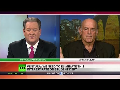 Jesse Ventura on fixing college debt: 'Get out of the wars'