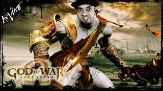 GOD OF WAR 2 PS3 Ω 🔴 [[ LIVE ]] 🔴 - TREINAMENTO VERY HARD - AO VIVO