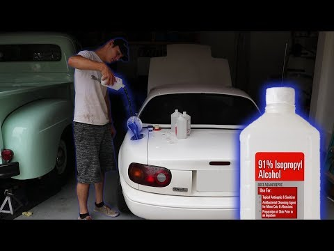 Will Rubbing Alcohol Work as Car Fuel?