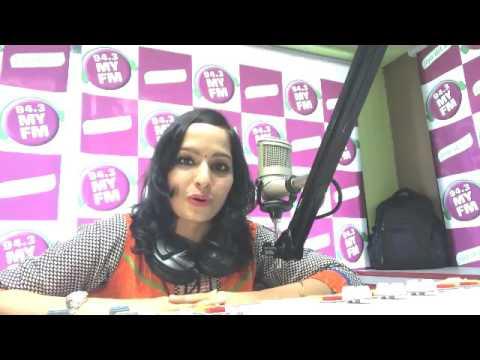 94.3 MY FM radio station live interview