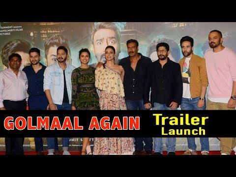 Golmaal Again Official Trailer Launch Full Video | Ajay Devgn, Rohit Shetty, Parineeti Chopra
