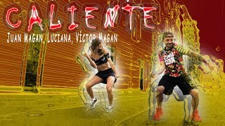 Juan Magán Ft. Luciana  Víctor Magan - Caliente / Latin House Zumba Choreo by Jose Sanchez