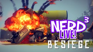 nerd³ live besiege aerodynamics for dummies