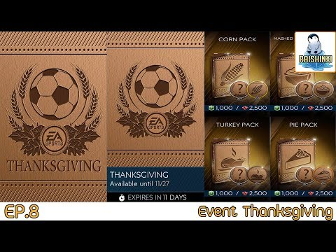 [FIFA Mobile 2019] EP.8 Event Thanksgiving