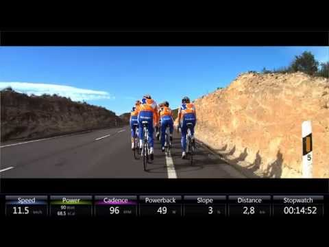 Cycling - Tacx T1957.10 Training with Rabobank 2010  - Spain