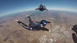 Skydiving Disaster AFF Level 3- face hits the plane step