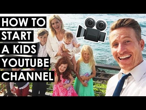 How to create a family youtube channel