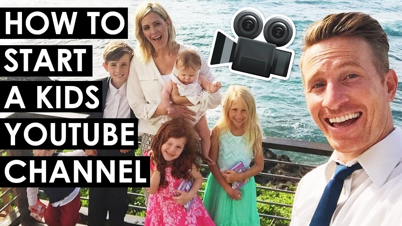 How To Start A Kids Youtube Channel And Protect Your Privacy April And Davey From Kids Try Youtube