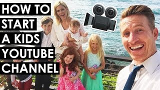 How to Start a Kids YouTube Channel and Protect Your Privacy — April and Davey from Kids Try